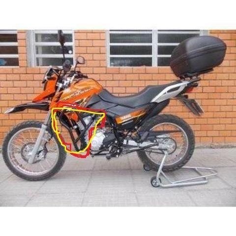 Farol Milha alto baixo sinalizador moto trilha e quadriciclo - Foto 3