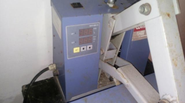Prensa térmica + overlook semi industrial + maquina de de costura reta - Foto 4