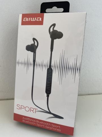 Fone de Ouvido Aiwa Bluetooth, para esportes - Foto 2