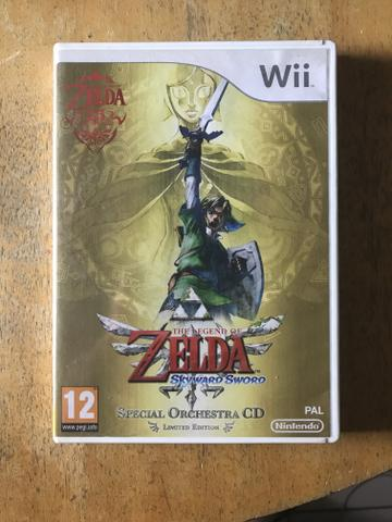 Zelda Skyward Sword - Jogo Nintendo Wii - Foto 2