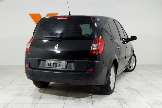 Renault Grand Scénic Grand Dynamique 2.0 16V 5p Aut. - Preto - 2009 - Foto 4
