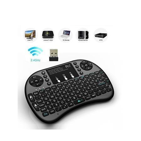 Mini Teclado Sem Fio Wireless Touch Pad Universal Console Pc - Foto 3