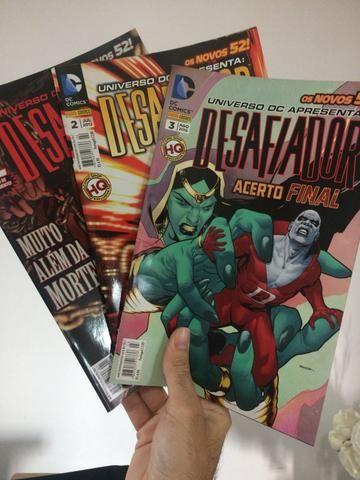 Hq: Desafiador (3 volumes)