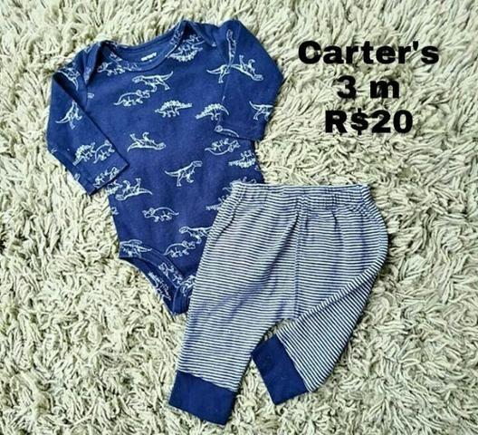 Roupas e toalha de banho Carter's - Foto 2