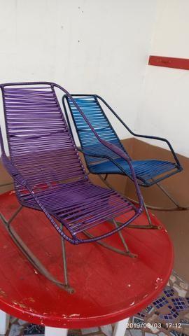 Cadeiras de macarrão