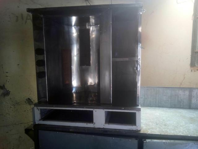 Máquina de churrasco grego funcionando perfeitamente - Foto 3