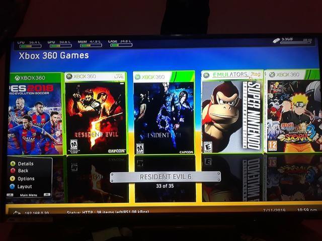 Xbox destravado + 35 jogos! aceito cartão - Foto 3