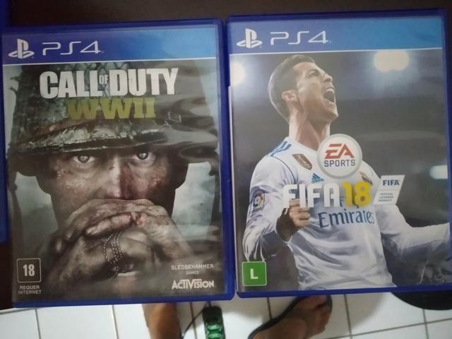 Jogos PS4 pra troca