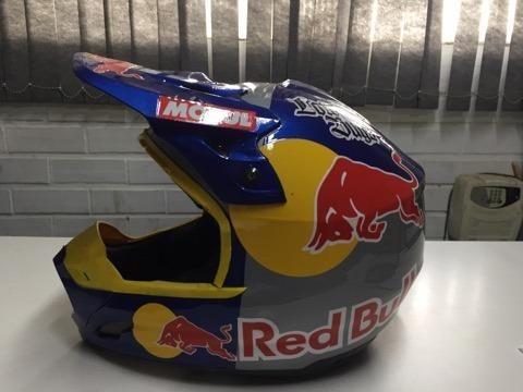 Capacete Red Bull - Foto 5