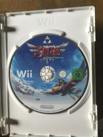 Zelda Skyward Sword - Jogo Nintendo Wii - Foto 3