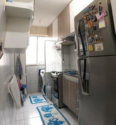 FH - Alugo Apartamento no Condomínio Praias Belas Estrada de Ribamar 2 Banheiros - Foto 4