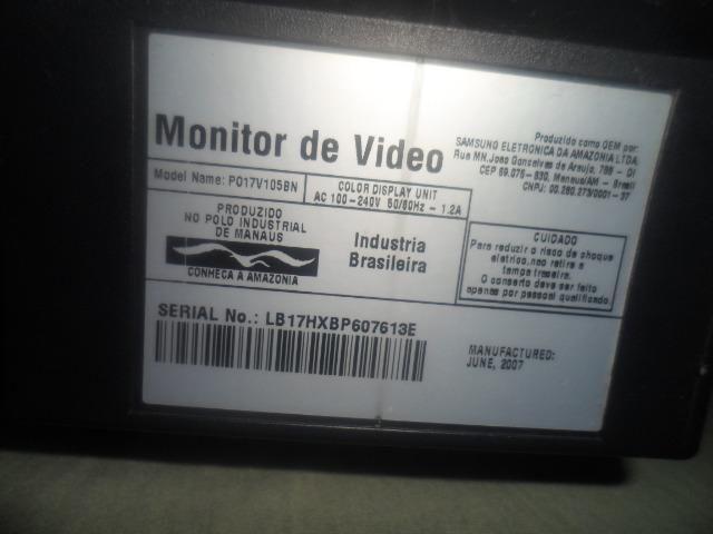 Monitor sansung antigo usado mas funcionando perfeitamente - Foto 3