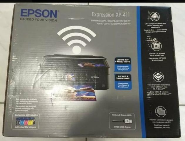 Impressora Multifuncional Epson Expression - Xp-411 - Bivolt
