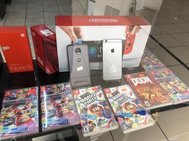 Nintendo Switch - Novo lacrado - 1 ano de garantia
