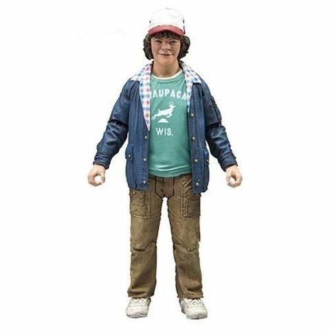 Dustin Stranger Things - alta qualidade, 17.80 cm de altura, na caixa, novo