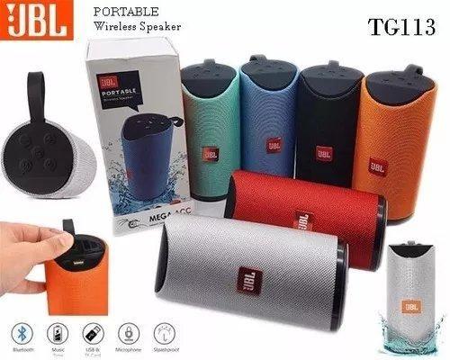 Caixa de som Jbl Portable TG113 - Entrega Gratis