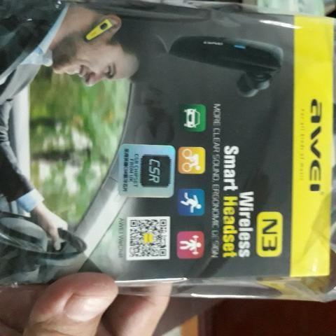 Awei N3 Design Exclusivo Portátil Mini Mini Fones De Ouvido