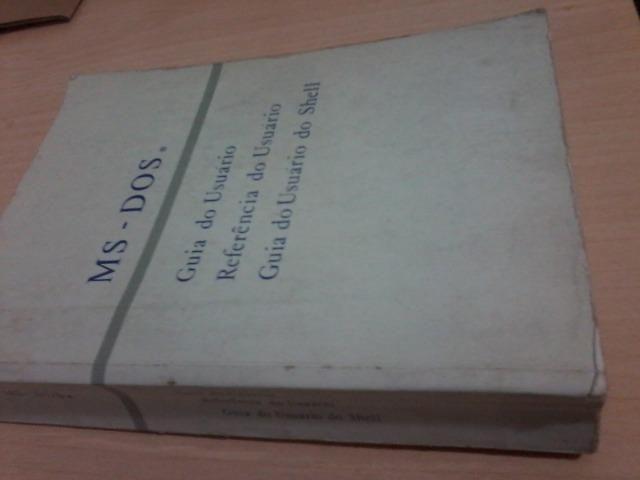 Manual DOS 1ª Edição ed 1991 ótimo estado
