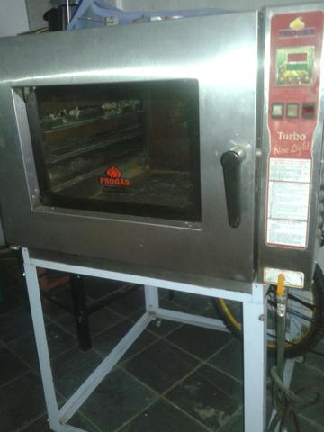 Forno turbo 5 assadeiras