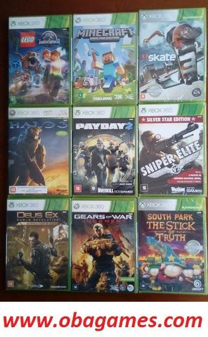 Games Xbox 360 Originais e Novos Lacrados
