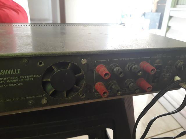 Potência amplificador