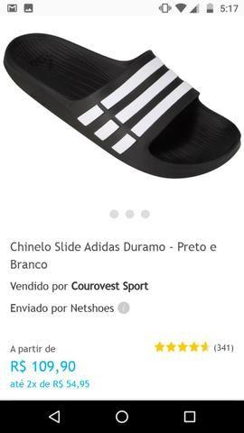 5dcdaababf1f Chinelo Slide Adidas Duramo Original - Roupas e calçados - Bequimão ...