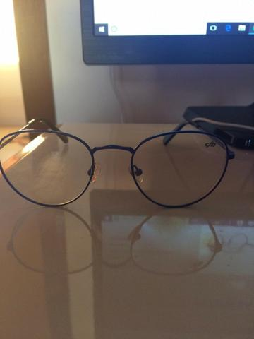 968ee92c4 Armação oculos de grau chilli beans azul - Bijouterias, relógios e ...