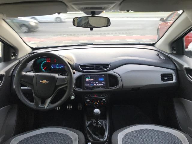 Chevrolet Onix LT 1.0 2015 Completo com My Link - Foto 9