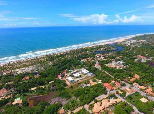 Village de 2 e 3/4 no Riverside Imbassaí, Próximo de Praia do Forte - Foto 2