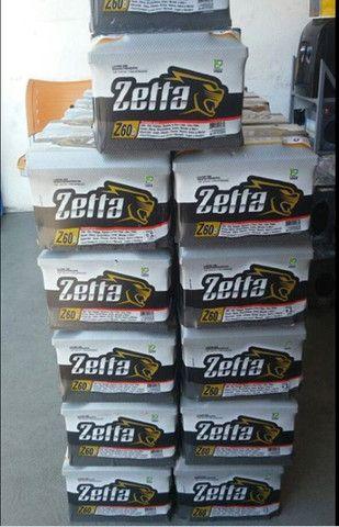 Bateria 60 zetta amperes R$ 195,00