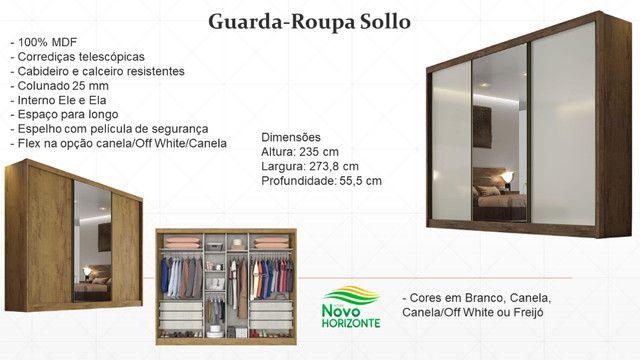 Guarda-Roupa Sollo (Produto novo na caixa) - Foto 6