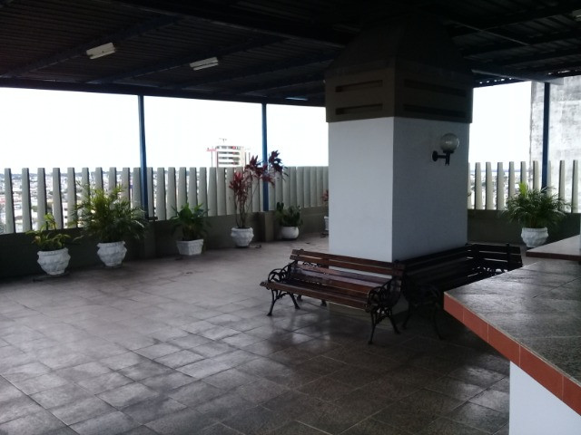 Centro>Cond.João Paulo-86m2-4 Quartos-Piscina-Segurança 24h-Semi Mobiliado - Foto 4