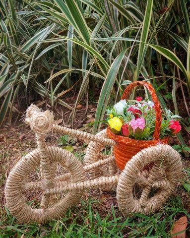 Triciclo decorativo - Foto 2