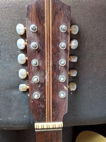Viola Queluz 10 cordas, feita em rádica - Foto 5