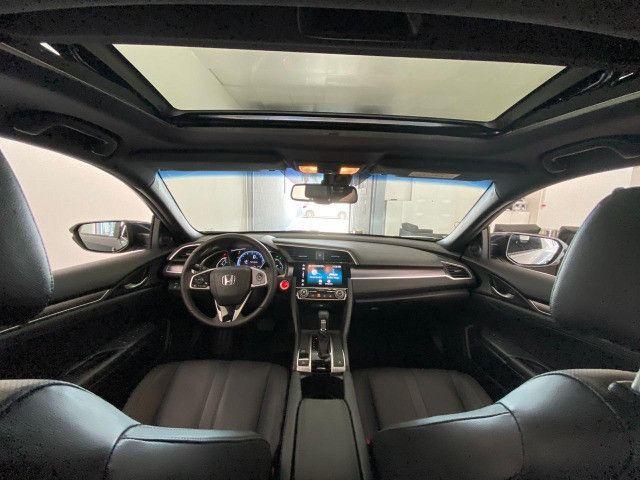 Honda Civic Touring 1.5 Turbo CVT 2019 C/ Teto - Foto 8