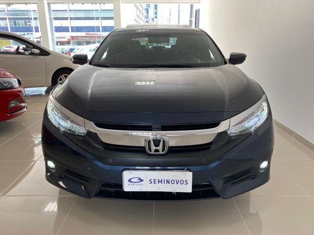 Honda Civic Touring 1.5 Turbo CVT 2019 C/ Teto - Foto 2