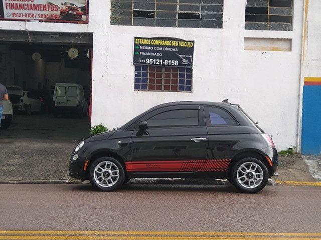 Fiat 500 - Ano 2012/2012 - Foto 12