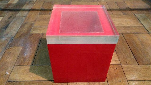 Caixa de acrílico - Balde de gelo  - década de 70 - Foto 3
