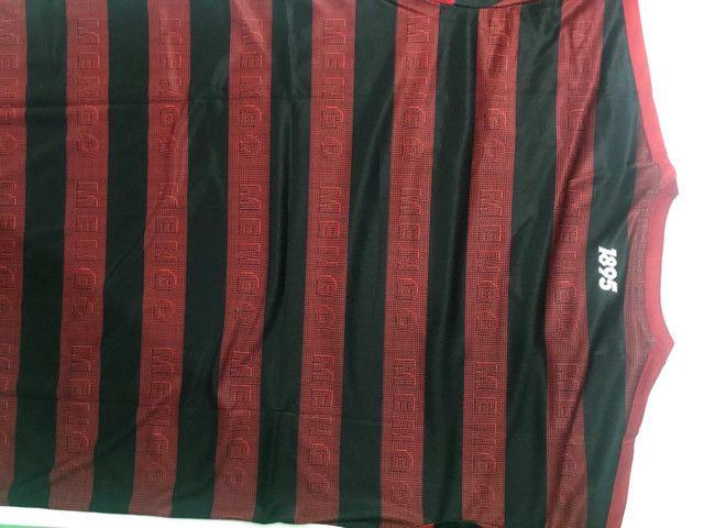 Camisa Flamengo Modelo 1 2019/2020 - Foto 6