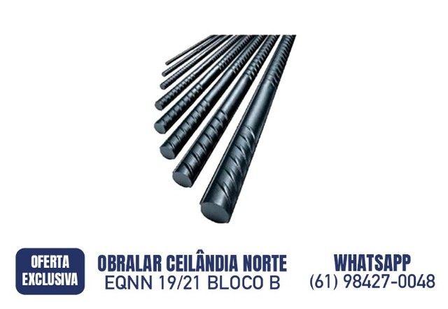 R$ 42,90 Ferro para construção 5/16 8mm