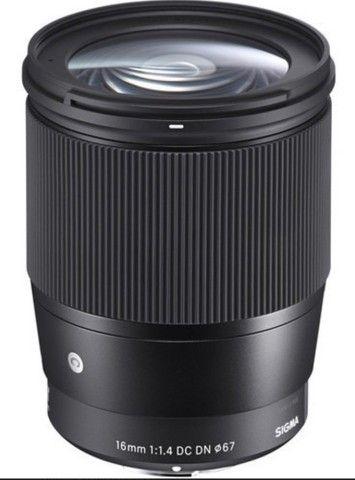 Lente Sigma 16mm F/1.4 Dc Dn Contemporary - Sony  - Foto 5