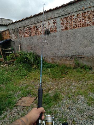 Molinete com a vara  - Foto 3