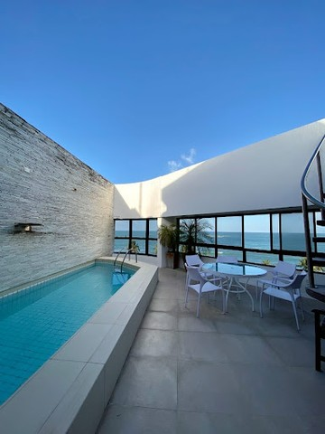 Cobertura beira mar com 4 dormitórios à venda, 498 m² por R$ 3.200.000 - Jatiúca - Maceió/ - Foto 2
