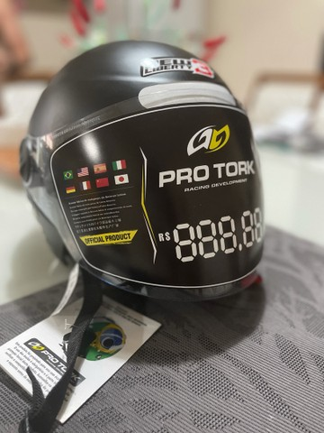 Capacete pro tork new liverty 3 novo - Foto 4