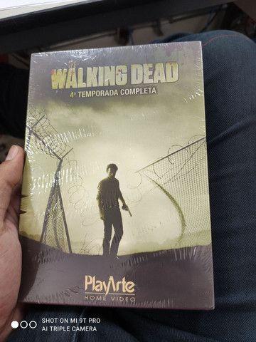 Box 4ª temporada the walking dead lacrado