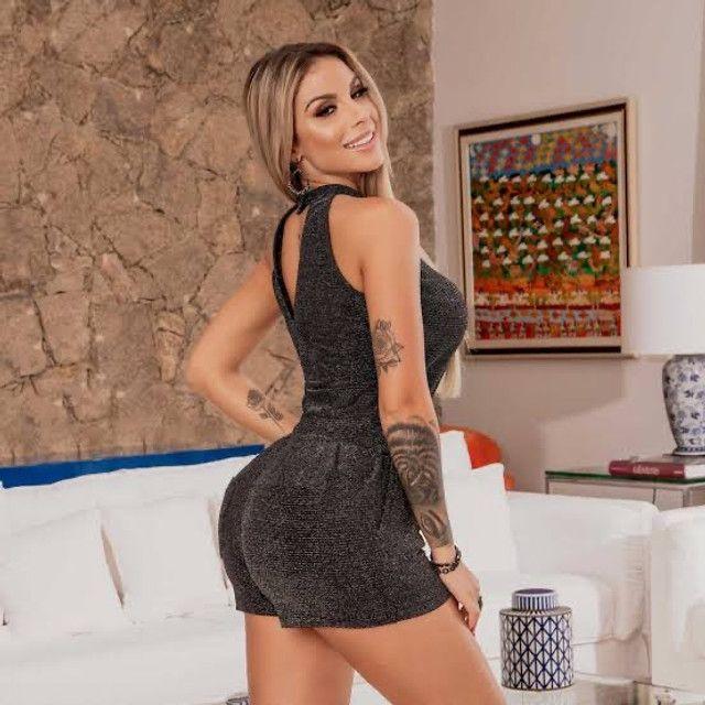 Macaquinho Pitbull Jeans Original - Foto 2
