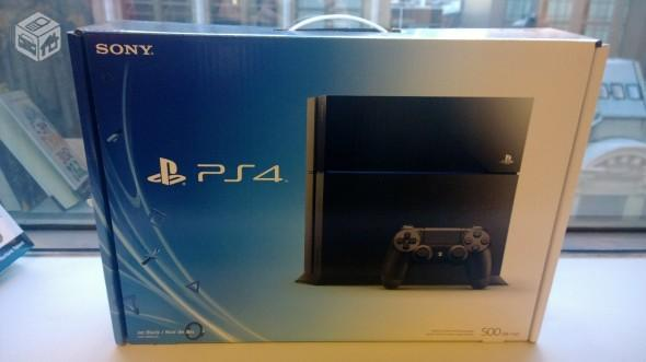 Playstation 4-Garantia 01 ano- Aceitamos vídeo games como parte do pagamento