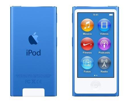 IPod nano 7 Apple, 16GB, azul