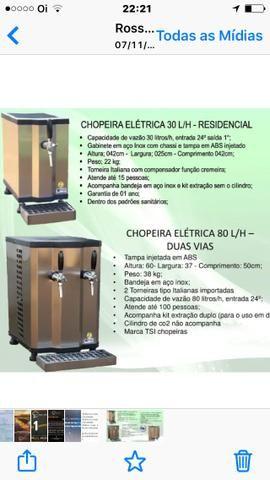 Chopeira Elétrica 50 L/H Profissional - Foto 4