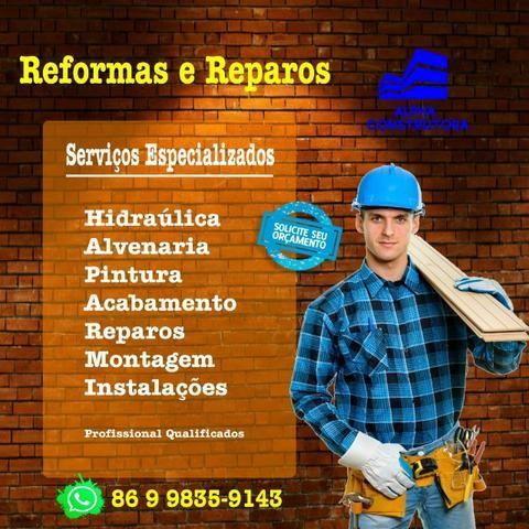 Reforma e reparos